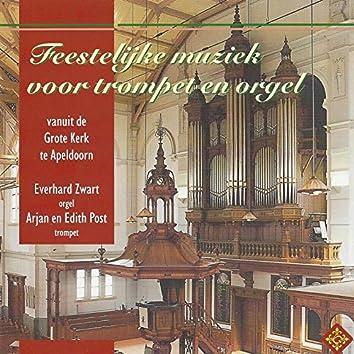 Feestelijke muziek voor trompet en orgel