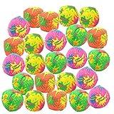 Playko 2-Inch Water Balls - Mini Splash Balls - Pack of 24 Splash Bombs - Sponge Balls for Pool - Colorful Water Bombs - Water Soaker Balls - Outdoor Water Toys for Kids - Pool Party Toys Boys Girls