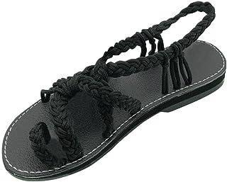 hot sale buy cheap exquisite design Amazon.fr : sandales corde
