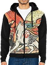 Okami Female Long Sleeve Solid Color Hooded Sweatshirt Hoodie Tracksuit Sweat Coat Casual Sportswear