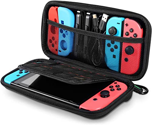 popular UGREEN Carrying Case Compatible for Nintendo Switch Hard Shell Travel Case Protective Cover Bag with 9 Game outlet online sale Cartridges Card Slots for Nintendo Switch Console outlet sale Pro Controller Accessories outlet sale