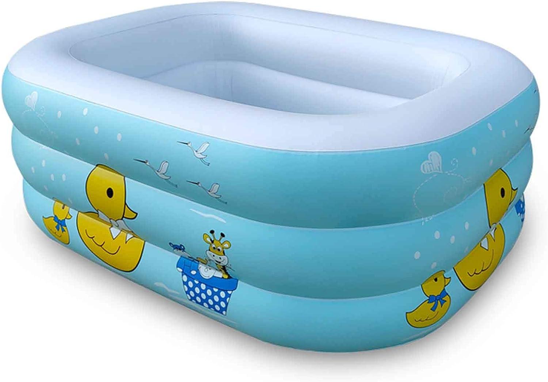 Piscinas Desmontables Rectangulares,Piscina Duradera para Patio Piscina Hinchable Infantil Usado para Jardín Fiesta Al Aire Libre