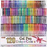 Shuttle Art 120 Unique Colors (No Duplicates) Gel Pens Gel Pen...