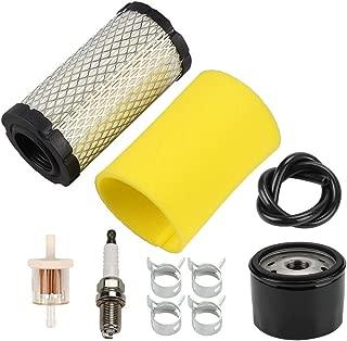 Venseri 793569 793685 Air Filter with Pre Filter Tune-Up Kit for Briggs & Stratton Intek 20-21 Gross HP John Deere MIU11511 GY21055 LA125 LA115 D100 D120 D110 L100 Lawn Mower Tractor