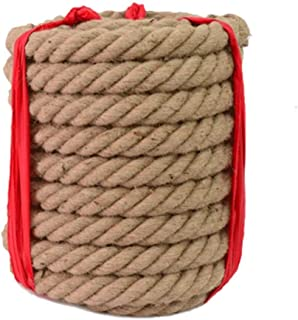 Sports jours School 28 mm NATURAL Junior Adulte Tug Of War Rope x 20 mètres