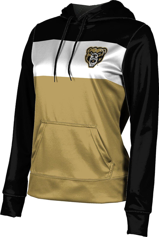 Oakland University Girls' Pullover Hoodie, School Spirit Sweatshirt (Prime)