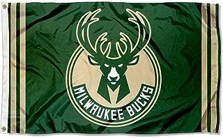 Wincraft NBA Milwaukee Bucks 3x5 Banner Flag