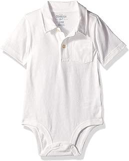 Baby Boys Polo Bodysuit