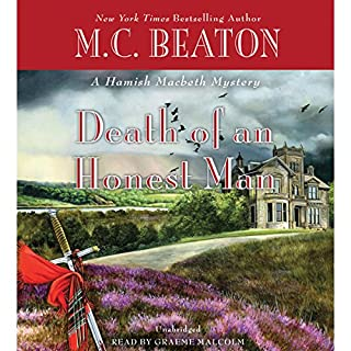 Death of an Honest Man audiobook cover art