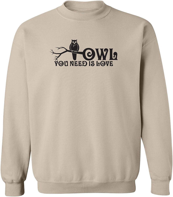 Owl You Need Is Love Crewneck Sweatshirt