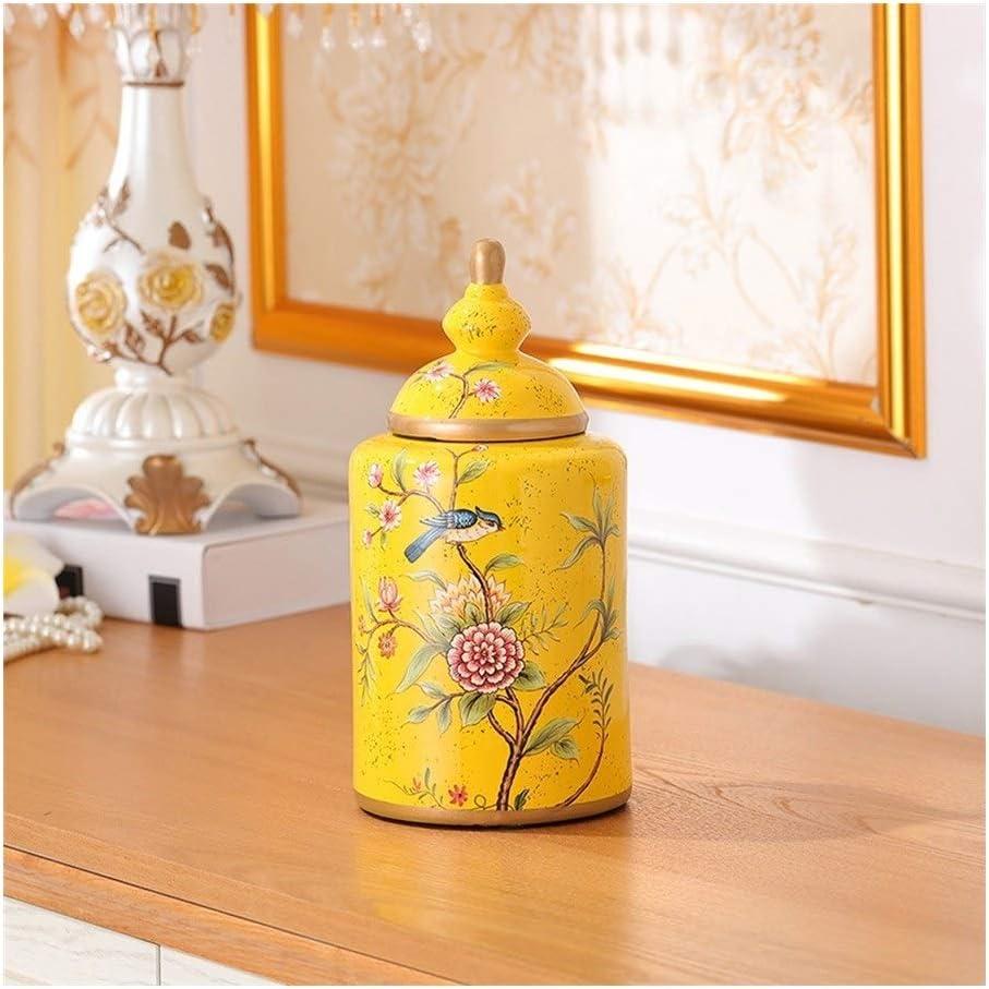 Keepsake Decorative Long-awaited urns Large Beautiful Urns Ceramics Human for Spring new work