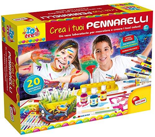 Lisciani Giochi 63765-Io Creo Crea i Tuoi Pennarelli, 63765