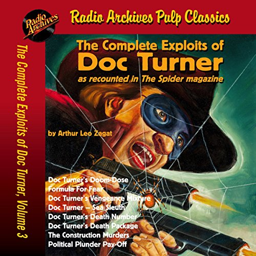 Couverture de The Complete Exploits of Doc Turner, Volume 3
