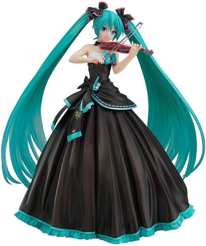 el estilo clásico Zhijie-wanju Hatsune Hatsune Hatsune Miku Vocaloid Symphony Version PVC Figura  precios mas bajos
