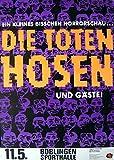 leonatica Konzertplakat Die Toten Hosen Böblingen