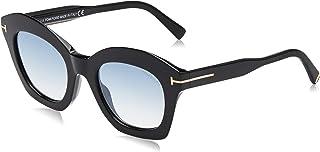 نظارات شمسية من توم فورد باطار اسود FT0689