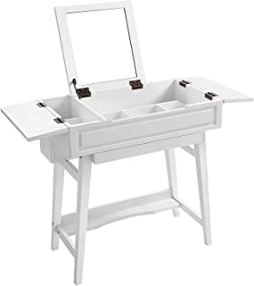 malm makeup vanity with mirror