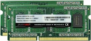 CFD販売 ノートPC用 メモリ PC3-12800(DDR3L-1600) 4GB×2枚 1.35V対応 SO-DIMM (無期限保証)(Panram) W3N1600PS-L4G
