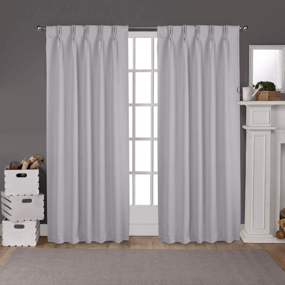 100% Polyester Double Pinch Pleated Popularity Pane Window Blackout Curtain Max 49% OFF