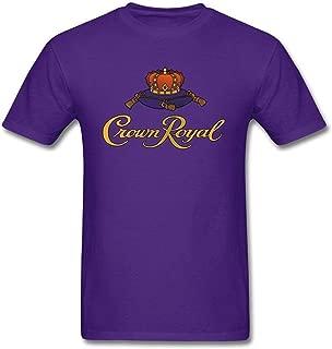 Men's Crown Royal T Shirts Purple