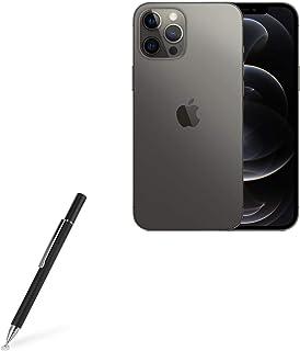Caneta Stylus BoxWave para Apple iPhone 12 Pro Max [FineTouch Capacitive Stylus] Caneta Stylus Super Precisa para Apple iP...
