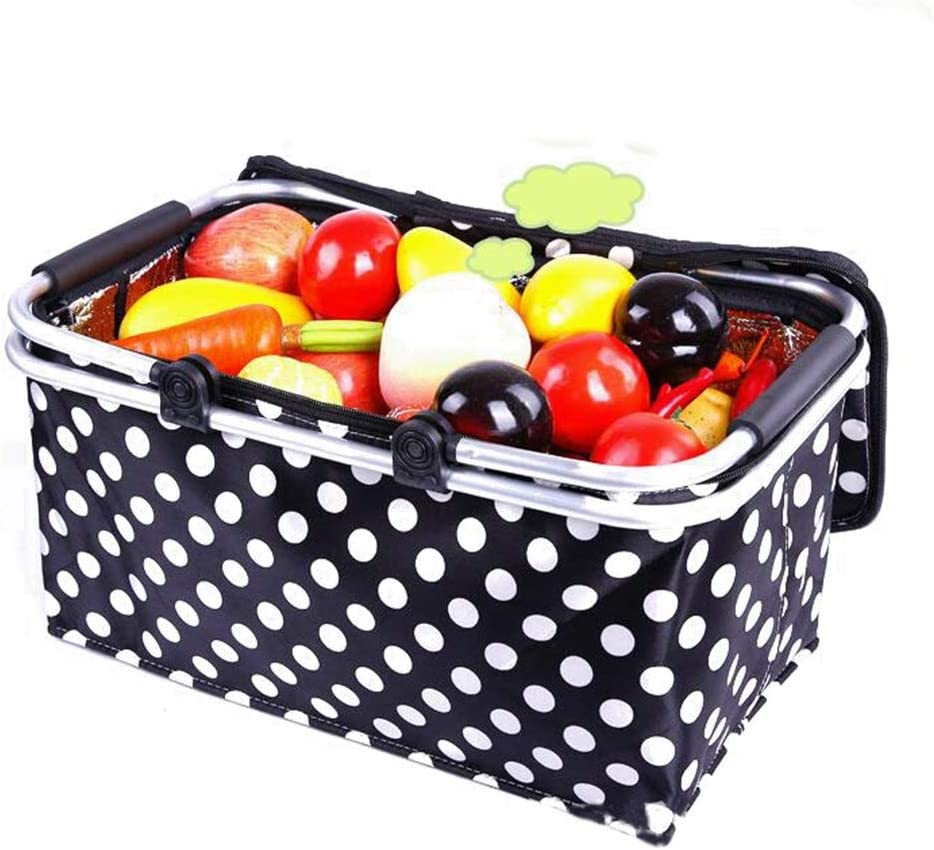 tsp Picnic All stores are sold Basket Polka Insulated Collapsible Dot Dallas Mall