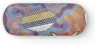 Australian Dreamtime - Protective Eyewear Case in Authentic Aboriginal Artwork