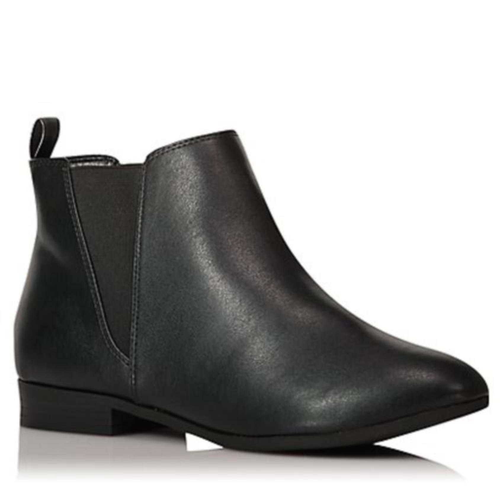 Womens Ladies Faux Leather Suede