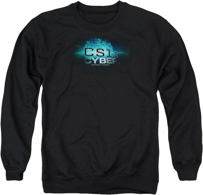 CSI  Cyber - CSI  Cyber - Mnner Thumb Print Sweater