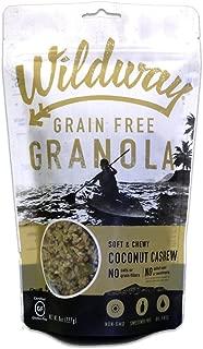 Wildway Keto, Vegan Granola | Coconut Cashew | Certified Gluten Free Granola Breakfast Cereal, Low Carb Snack | Paleo, Grain Free, Non GMO, No Added Sugar | 8oz