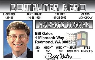 Signs 4 Fun Ncnid Bill Gates's Driver's License