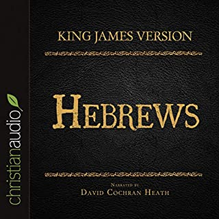Holy Bible in Audio - King James Version: Hebrews audiobook cover art