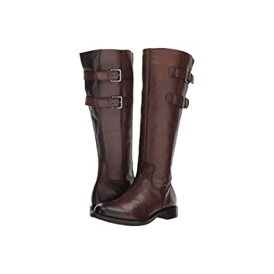 ECCO Shape 25 Tall Buckle (Bison Full Grain Leather) Women
