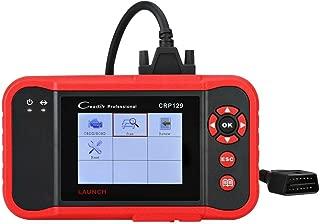 ABS SRS Diagnose Launch CRP123X OBD2 Scanner Professioneller Automotive Code-Leseger/ät f/ür Motorgetriebe mit AutoVIN Service Wi-Fi Updates