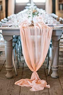 table overlays wedding