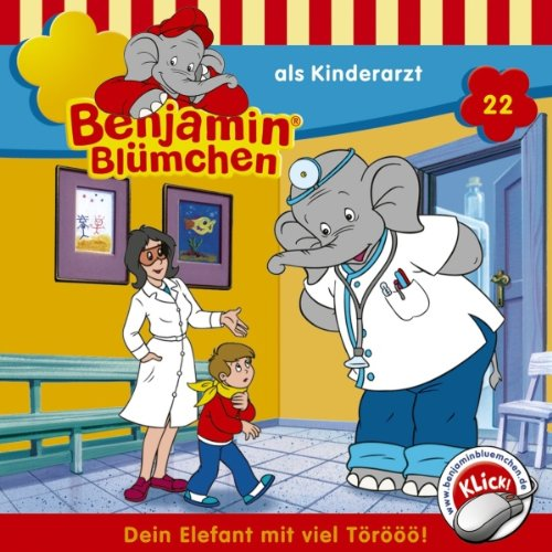 Benjamin als Kinderarzt audiobook cover art