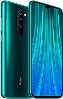 "Xiaomi Redmi Note 8 Pro 128GB, 6GB RAM 6.53"" LTE GSM 64MP Factory Unlocked Smartphone - Global Model (Forest Green) (Green, 128)"