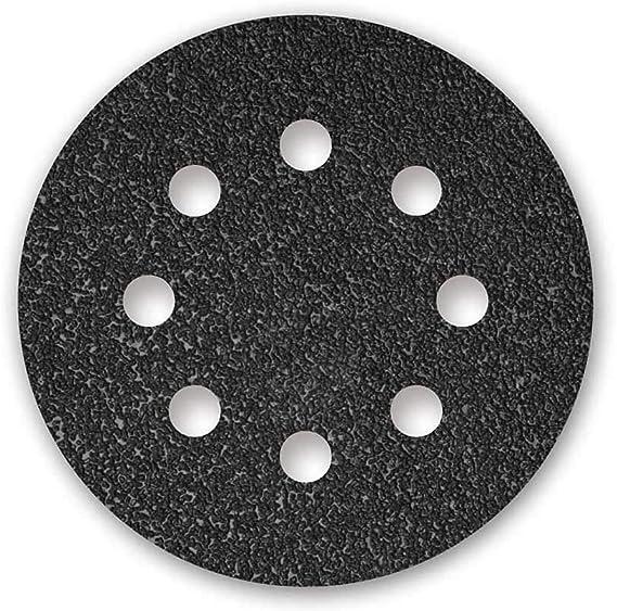 Menzer Black Klett Schleifscheiben 125 Mm 8 Loch Korn 24 F Exzenterschleifer Siliciumcarbid 25 Stk Baumarkt
