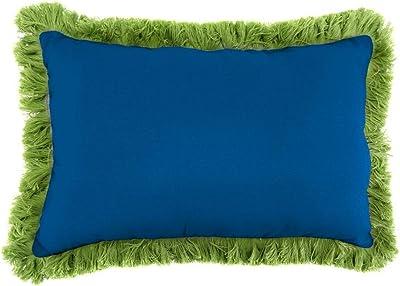Amazon.com: Sunbrella 24.0 in Cojín cuadrado de lienzo verde ...