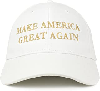 Best white gold maga hat Reviews