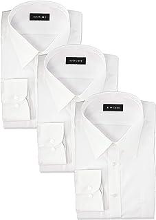 [アオキ] 長袖 シャツ3点セット 【形態安定/抗菌防臭加工/立体縫製/ビジネス】 メンズ