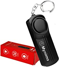 Personal Alarm, Safesound Personal Security Alarms Keychain with LED Light for Women Men, Children and Elderly, by Mynimo 130DB Loud, Security Self Defense Keychain