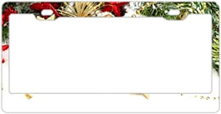 KSLIDS Holiday Christmas Tree Metal Novelty License Plate Tag Sign Men Women