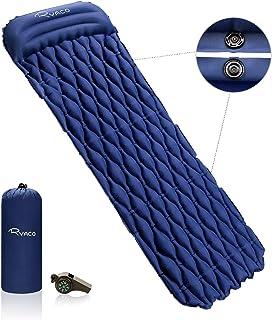 Azul Esterilla Acampada Autoinflable Colch/ón Impermeable y Aislante Camping Senderismo Dormir Acampada