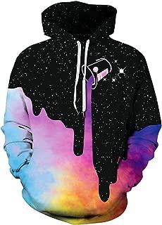 Unisex Realistic 3D Printed Athletic Pullover Sweatshirt Hoodies