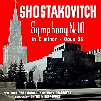 Shostakovitch: Symphony No. 10