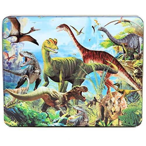 Houten puzzel 2 jaar en ouder Cartoon dinosaurus Houten legpuzzels Educatief speelgoed voor Preschool Kids voor jongens en meisjes cadeau 60 * 45 * 0.6 cm