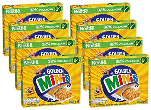 Nestlé Cerealien Golden Minis Cerealien Riegel , 8er Pack (8 x (4 x 25g))