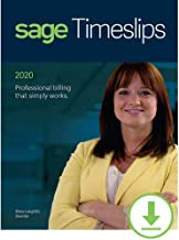 Sage Timeslips 2020 Time and Billing 4-User [PC Download]
