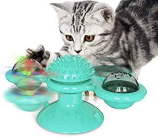 3 Levels Pet Cat Toy Tower Tracks Disc Interacitve Cat Toys Ball Training Amusement Plate Cat Tracks Toys For Cats Kitten ...